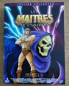 Coffret 3 DVD LES MAÎTRES DE L'UNIVERS Édition collector films I & II - France