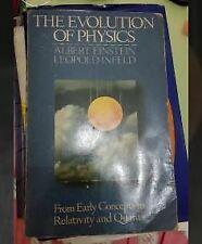 The Evolution of Physics book Albert Einstein