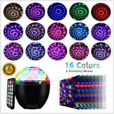 LED Discokugel 16 Beleuchtungsform Musikgesteuert Discolicht Lichteffekte DHL