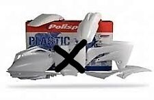 kit plastique blanc POLISPORT HONDA 450 CRF 2007-2008  6 pieces
