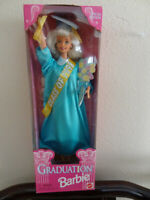 1997 Mattel Blonde Graduation Barbie Any Class Any Date Special Edition VINTAGE