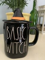 Rae Dunn BASIC WITCH Mug With Hat Topper