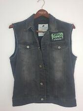 Jack & Jones Vtg Style Denim Sleeveless Jacket Killing Technology Men's Size M