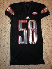 2015 Adidas Louisville Cardinals #58 Jonathan Greenard Football Game Worn Jersey