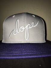 Dope Couture Script Snapback Hat