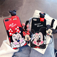 Cute Disney Minnie Mickey Case For Samsung S20 S10 S9 Note 10 Plus A51 A71 Cover