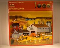 Vintage AMERICAN PUBLISHING Jigsaw Puzzle COUNTRY HARVEST (1000pcs, 1978)