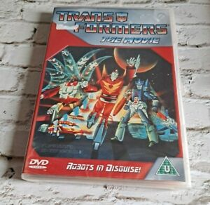 Transformers: The Movie (DVD, 1986) NEW & SEALED