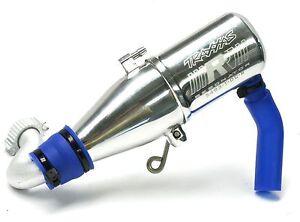 Nitro Revo 3.3 TUNED PIPE & Header exhaust Resonator slayer 53097-3 Traxxas