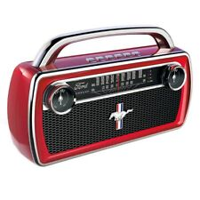 Ion Mustang Stereo Wireless Stereo Speaker With Classic Car Styling