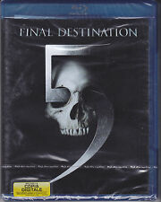 Blu-ray **FINAL DESTINATION 5** nuovo 2011