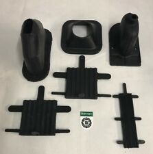 Bearmach Land Rover Series 2, 2a & 3 Gear & Handbrake Lever Gaiter & Pedal Set