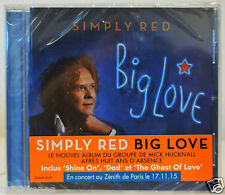 nouvel album Cd SIMPLY RED Big Love neuf shine on dad mick Hucknall