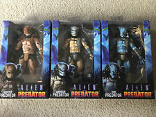 NECA Alien vs Predator FIGURE LOT (3 Figs) SEALED Hunter Mad Warrior PREDs NEW