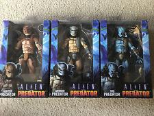 NECA Alien vs Predator FIGURE LOT (3 Figs) SEALED Hunter Mad Warrior PREDs NEW