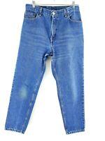 VTG Levi's Women's 550 Medium Wash Denim Tapered High Rise Jeans Sz 31x27.5