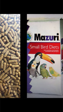 Mazuri Bird Food Low Iron Diet 2 LB for Mynah,Toucan,Turaco, Aracari, Softbills.