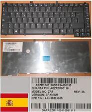 CLAVIER QWERTY ESPAGNOL ACER 1400 1600 NSK-H3G0S ZR1 9J.N5982.G0S AEZR1P00110