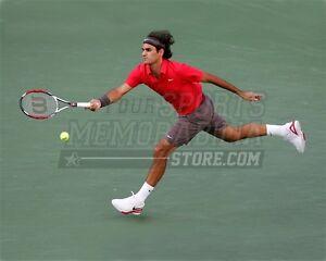 Roger Federer return lunge  8x10 11x14 16x20 photo 712