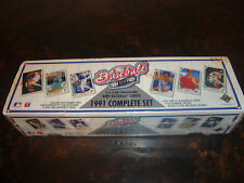 1991 Upper Deck Baseball---Complete Set---Factory Sealed---Chipper Jones RC