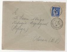 1939 France Concentration Internment Camp de Gurs prisoner Cover Carlos Albrigo