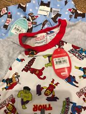 PETER ALEXANDER Boys PJ BUNDLE Marvel Avengers + Santa Paws 2 Sets Kids Size 3