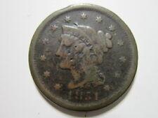 Large Cent 1851