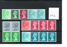 GB - MACHIN  (171) - BOOKLET & /or COIL STAMPS -  selection - mint