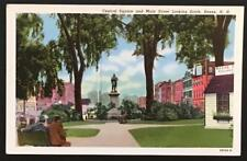Central Square and Main Street Looking South Keene NH Curteich-Chicago 8B588-N