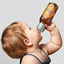 Chill Baby Lil Lager Fun Baby Bottle by Fred & Friends 10OZ New