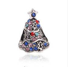 European Silver Charm Bead Fit sterling 925 Necklace Bracelet Chain US hot a22