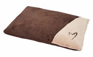 Medium & Large Soft Dog Bed Puppy Pet Washable Zipped Mattress Cushion Dream