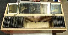 Vintage McIntosh Stereopticon Co Lot of 38 glass slides + Wood Case Make Offer
