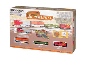 Bachmann 24021 SUPER CHIEF (N SCALE) Ready to Run Train Set