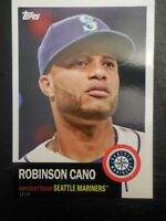 2016 Archives Baseball 5x7 Set Break 1953 Design #/49 Robinson Cano Mariners #59
