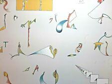 """Jan Voss * Original Lithographie * 1972 * """"So weit das Auge reicht"""" * s/n"""