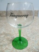 """Tanqueray Limited Edition Green Stem Gin / Cocktail Balloon Glass, 8"""" Tall"""