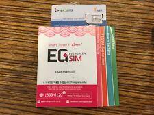 Prepaid SIM in South Korea EG SIM - Talk Talk Plan