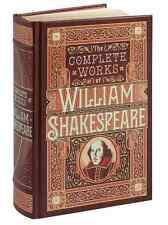 *New Sealed Leatherbound* THE COMPLETE WORKS OF WILLIAM SHAKESPEARE 2015 Edition