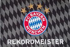 Flagge Fahne FC Bayern München Rekordmeister - 100 x 150 cm