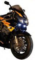 Universal Mini LED Tagfahrlicht Standlicht Positionslicht DRL Motorrad ATV Quad