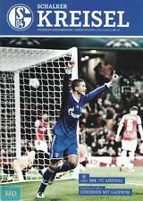 Schalker Kreisel + 06.11.2012 + FC Schalke 04 vs. FC Arsenal London + Programm +