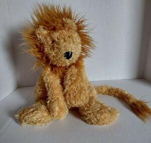 """Jellycat Junglie Bunglie Lion Floppy 15"""" Plush Stuffed Soft Toy Very Worn"""