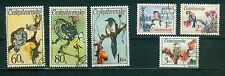 Tschechoslowakei 2110 - 2115 , o , Motiv Tiere - Vögel