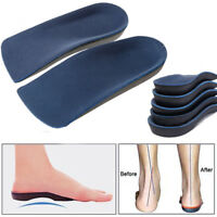 Orthotic shoe Insoles Arch Support Heel Plantar Fasciitis Orthopedic inserts 3/4