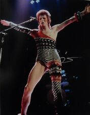 DAVID BOWIE SIGNED LIVE CONCERT PHOTO 8 X 10
