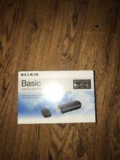 Belkin Basic Wireless USB Adapter 802.11n N150 Sealed New In Box