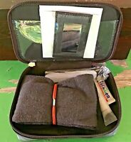 Vintage Iberia Airlines Travel Kit Zipper Bag: Toothbrush, Socks, Sleep Mask++