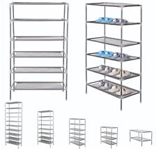Tiers Non-Woven Fabric Dustproof Shoe Rack Storage Organizer Cover Cabinet Shelf
