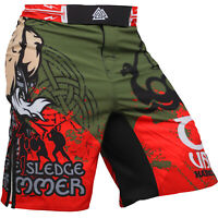 Fight Shorts Men/'s HCT Doodles MMA BJJ UFC No-Gi Crossfit Active Gym Fitness